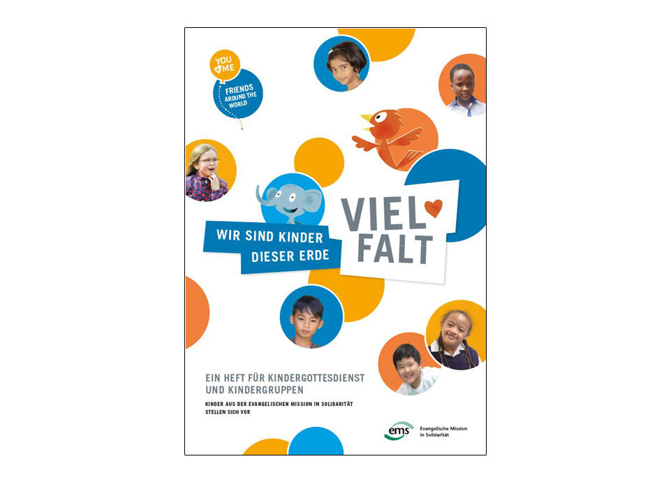 VIELFALT Heft / DIVERSITY booklet (Design and Illustration: EMS/ Monika Richter/ Gert Albrecht)