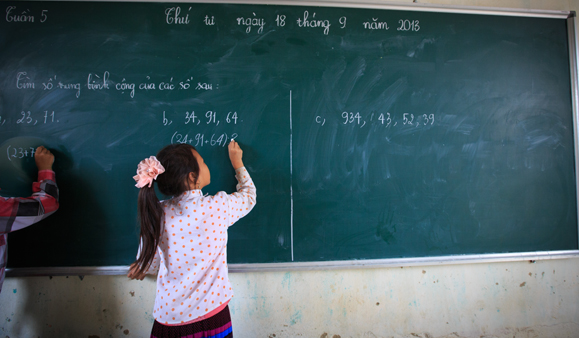 Educating girls is at the heart of social development. (Photo: UNESCO / Nguyen Thanh Tuan)