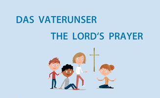 Vaterunser/Lord's Prayer (Illustration: EMS/Gert Albrecht)