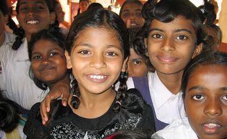Mädchen in Indien / Girls in India
